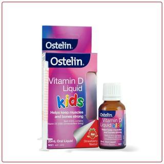 Vitamin D3 Drop Ostelin dạng giọt bổ sung vitamin D cho bé 2.4ml 20ml