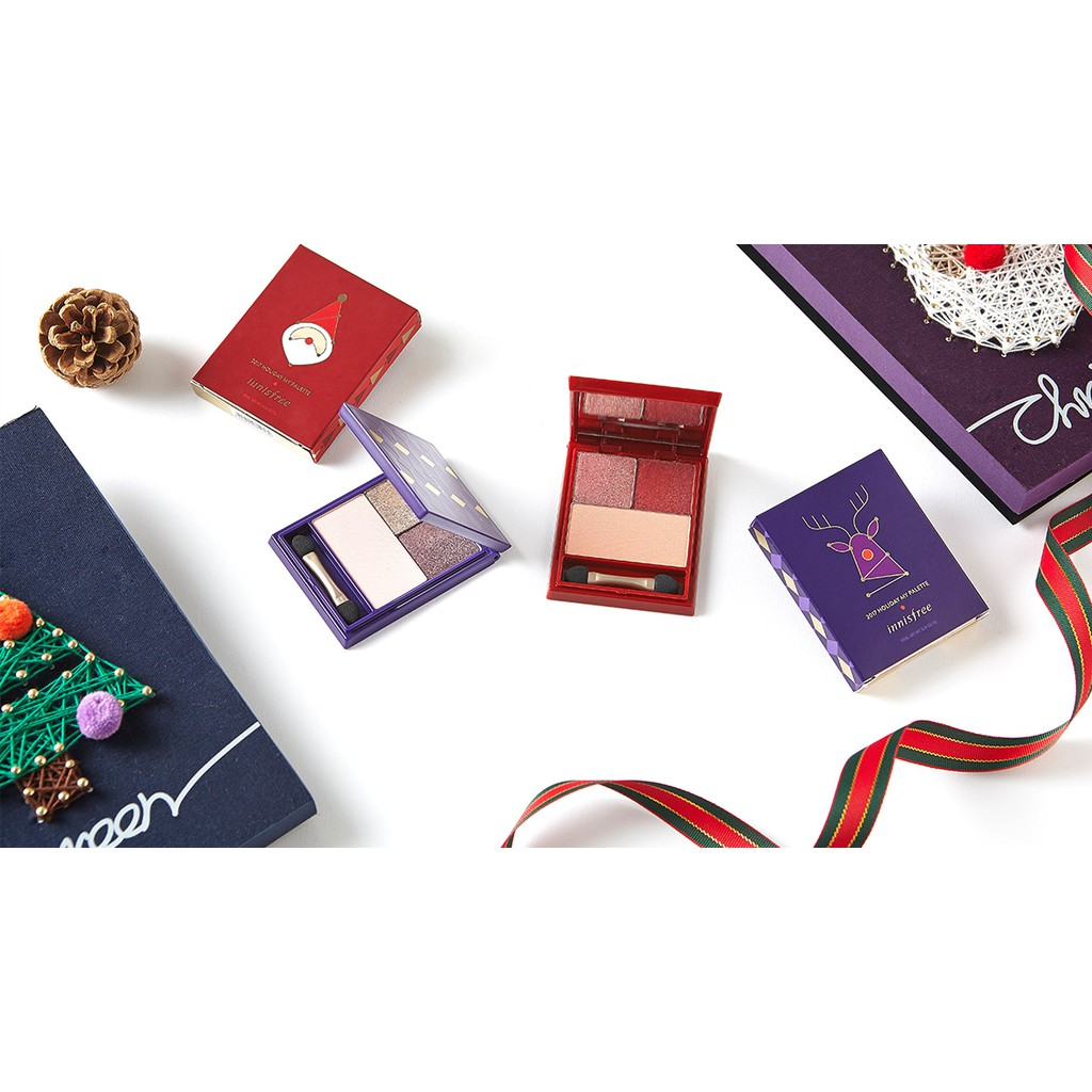 Hộp phấn mắt, má hồng – Innisfree Christmas Limited Edition My Palette