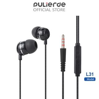 Tai nghe âm thanh nổi Pulierde L31 giắc 3.5 mm cho điện thoại iPhone Samsung