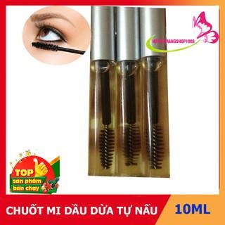 Chuốt Mi Dầu Dừa (Macara Dầu Dừa) Tự Nấu / Loại 10ml