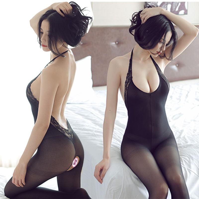 Mặc gì đẹp: Ngủ ngon hơn với Đồ ngủ Cosplay sexy lưới lọt khe - Đồ lót liền thân gợi cảm