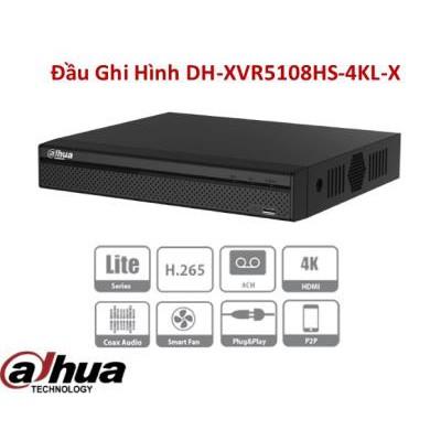 Đầu ghi DH-XVR5108HS-4KL-X 8 kênh hỗ trơ 4K vỏ sắt (hàng chính hãng DSS bảo hành 24 tháng)