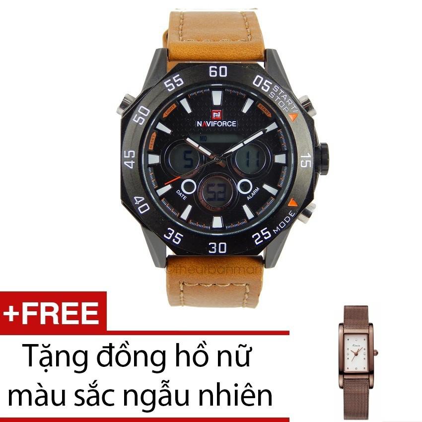 Đồng hồ NAVIFORCE9043ANF + 1 KIMIO KW6018S-C01