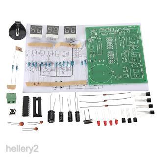 6 Digit LED Digital Alarm Clock Kits DIY Electronics Soldering Practice Set