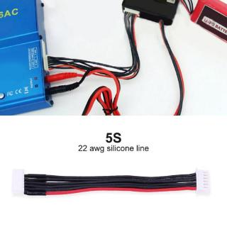 5Pcs/Set Lipo Balance Extension Cable Silicone Wire Lead RC Accessory for 2S / 3S 4S 5S/6S