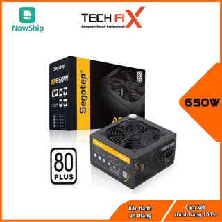 Nguồn PSU Máy tính Segotep AP650W - 80 Plus thumbnail