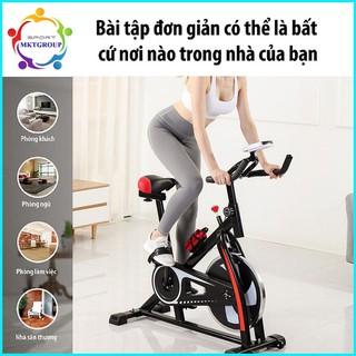 Xe đạp tập thể dục mẫu mới 2020 (màu đen)