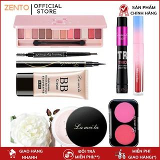 Bộ trang điểm Lameila 8 món tiện lợi set trang điểm chuyên nghiệp bộ makeup cá nhân đầy đủ thumbnail