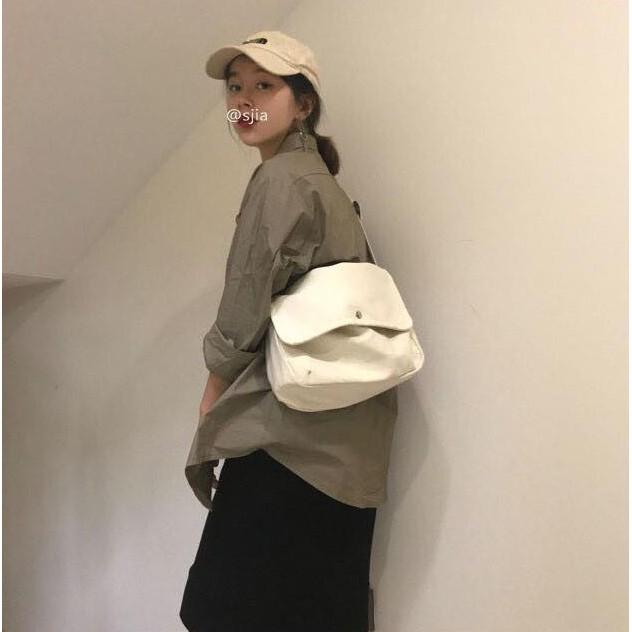 [RẺ VÔ ĐỊCH] Túi tote đeo chéo unisex Hàn Quốc (kèm phụ kiện)