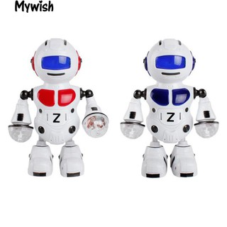 👶🏼Electronic Walking Dancing Music Light Astronaut Robot Funny Toy Xmas Gift