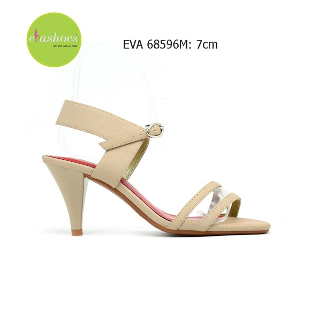 Giày Cao Gót Đế Nhọn Evashoes - Eva68596M(Màu Đen,Kem,Bò)