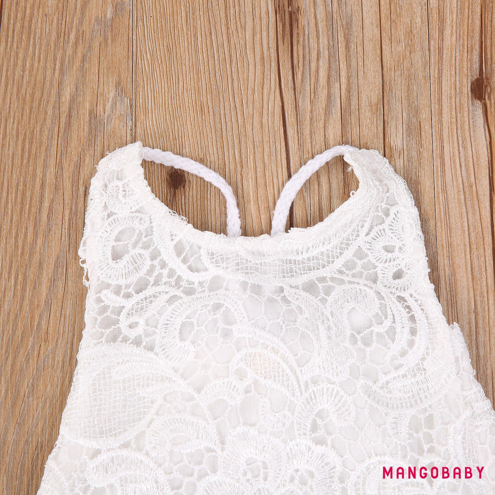 Jumpsuit Cotton Xinh Xắn Cho Bé Gái Từ 0-24 Tháng Tuổi