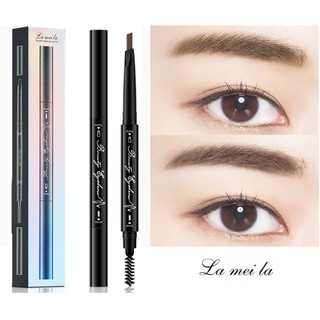 Bút Chì Kẻ Mày Lameila Double Eyebrow Pencil MXx thumbnail