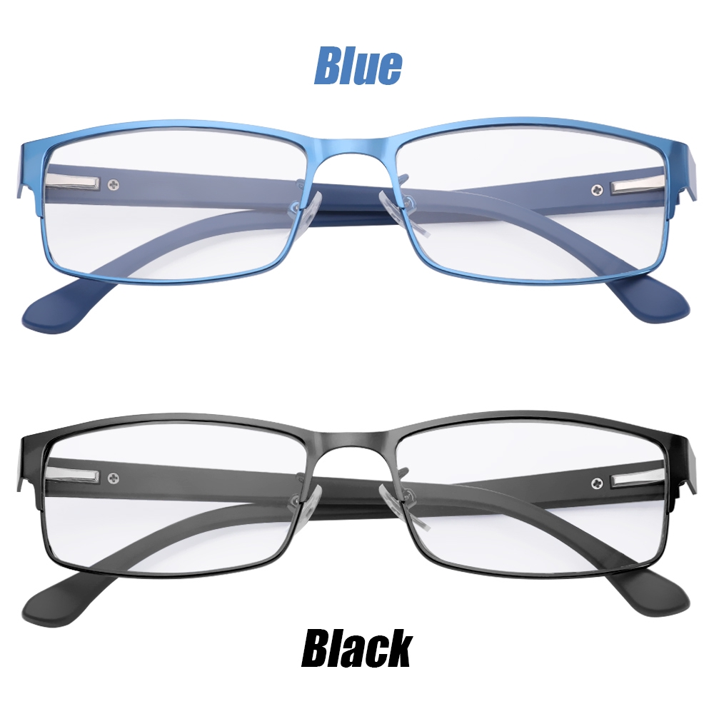 MIHAN1 Flexible Portable Magnifying Eye wear Metal Titanium Alloy Ultra Light Resin Business Reading Glasses