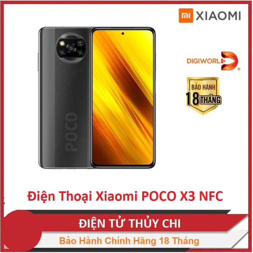 [Mã ELMS03 giảm 7% đơn 500K] Điện thoại Xiaomi POCO X3 NFC - Hàng Chính Hãng Phân Phối Digiworld !