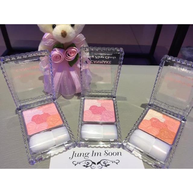 Phấn má hồng Canmake Glow Fleur Cheeks (10g)