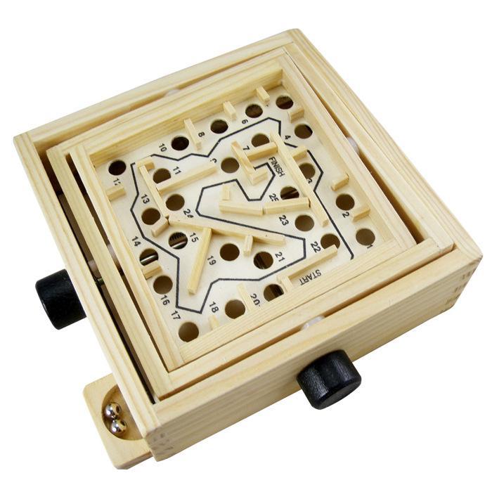 Đồ chơi thả bóng mê cung bằng gỗ cho bé phát triển trí não