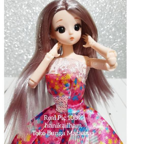 Mô Hình Nhân Vật Anime Xinh Xắn Chất LượngMắt 3D Cho Búp Bê BARBIE