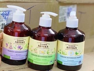 Dung dịch vệ sinh pharmacy apteka (dạng vòi ) 3
