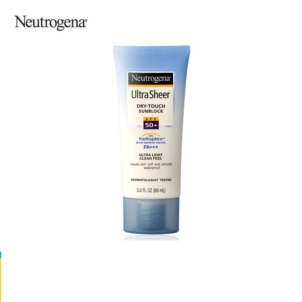 Kem chống nắng Neutrogena U.S Dry Touch SPF 50 88ml - 101016744