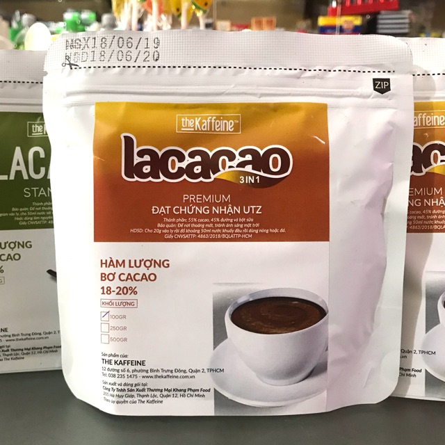 BỘT CACAO SỮA 3IN1 LACACAO 100g, THƠM NGON TIỆN LỢI - 14182527 , 2338819532 , 322_2338819532 , 20000 , BOT-CACAO-SUA-3IN1-LACACAO-100g-THOM-NGON-TIEN-LOI-322_2338819532 , shopee.vn , BỘT CACAO SỮA 3IN1 LACACAO 100g, THƠM NGON TIỆN LỢI