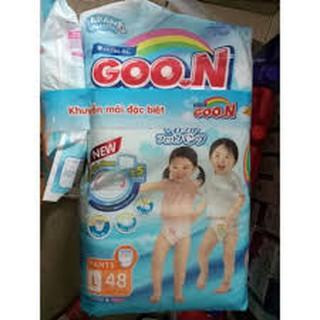 (Chào bạn) Bỉm Goon Slim Excellent quần thái lan m60 l48 xl42 hàng kẹp thumbnail
