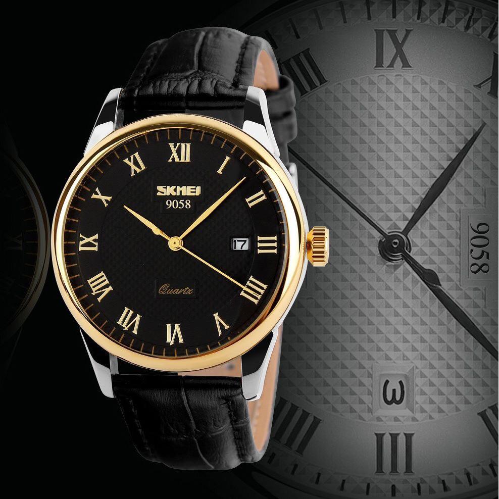 Đồng hồ cặp nam nữ SKMEI máy Nhật chính hãng mặt tròn dây