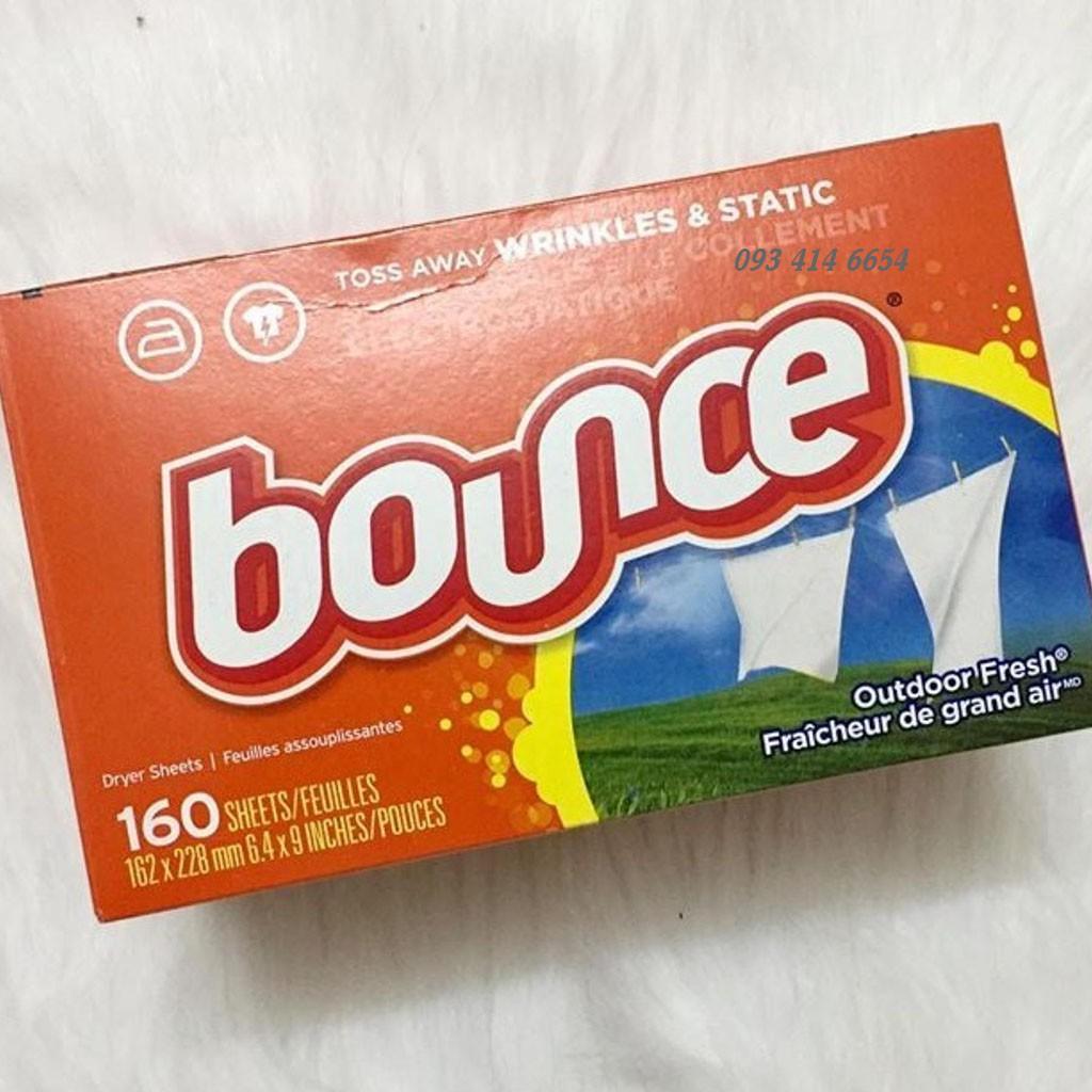 Giấy Thơm Quần Áo Bounce Của Mỹ 160 Tờ CỦA MỸ