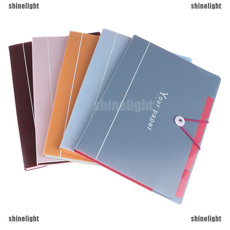 Set 5 bìa lưu trữ hồ sơ khổ A4 tiện lợi