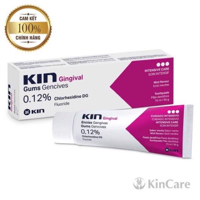 [ Kin] Kem Đánh Răng Kin Gingival Chlorhexidine