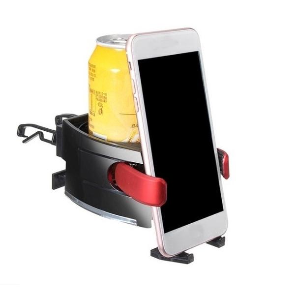 [DS] Giá Đỡ Điện Thoại Gắn Xe Hơi 2 Trong 1 Tiện Dụng Cho Iphone 11 Pro Xs Max Android