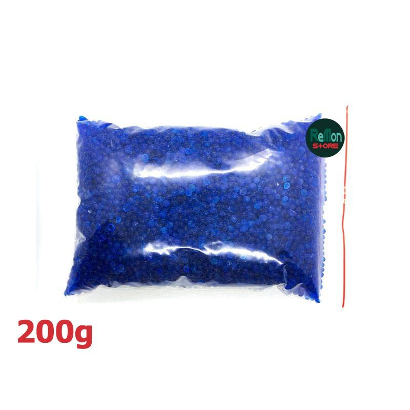 Hạt hút ẩm xanh cho máy ảnh 200g Silica Gel - Hàng nhập khẩu