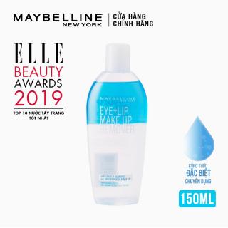 Nước Tẩy Trang Mắt và Môi Chuyên Dụng 2 lớp Maybelline New York Eye & Lip Makeup Remover 150ml