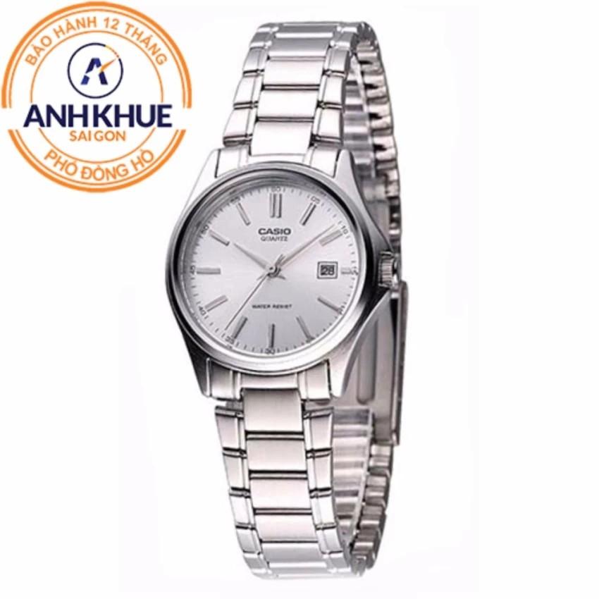 Đồng hồ nữ dây kim loại Casio Anh Khuê LTP-1183A-7ADF