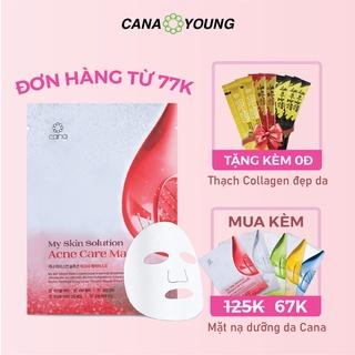 Mặt Nạ Tràm Trà Chăm Da Mụn Hàn Quốc Cana My Skin Solution Acne Care 60ml thumbnail
