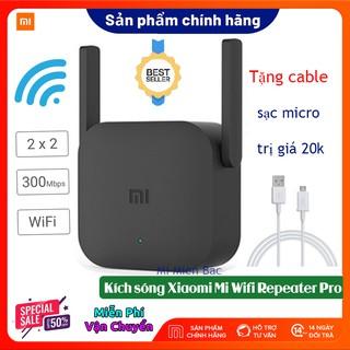 [BH 12 Th] Kích Sóng WiFi Xiaomi – Thiết Bị Mở Rộng WiFi Xiaomi Mi Wifi Repeater Pro phiên bản mới 2020, 300Mbps 2 râu