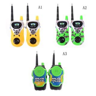 ❤❤2Pcs Walkie Talkie for Children Kids Electronic Toys T❤❤Way Radio Set
