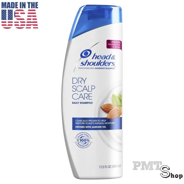 [USA] Dầu gội xả 2in1 400ml Head & Shoulders Classic Clean | Dry | Itchy Scalp Care | Smooth & Silky sạch gàu - Mỹ