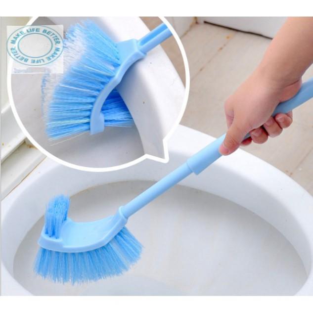 hàng mới Chổi cọ toilet 2 đầu sạch mọi ngóc ngách khe kẽ