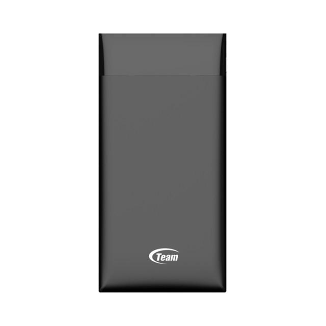 Bộ 5 Pin sạc dự phòng 10000mAh Polymer TEAM WP10000 (Đen) - Hãng phân phối chính thức