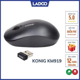 Chuột không dây Konig KM919 - Bảo hành 12 tháng chính hãng thumbnail
