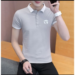[HOT] Áo thun nam ngắn tay có cổ cao cấp 5 màu sành điệu áo thun nam đẹp [cam kết chất lượng]