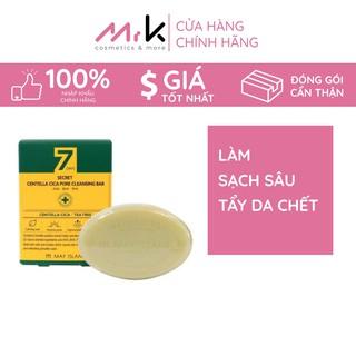 Sữa rửa mặt dạng bánh May Island 7Day Secret Centelacica Pore Cleansing Soap nhập khẩu Hàn Quốc làm sạch dành cho da mụn thumbnail