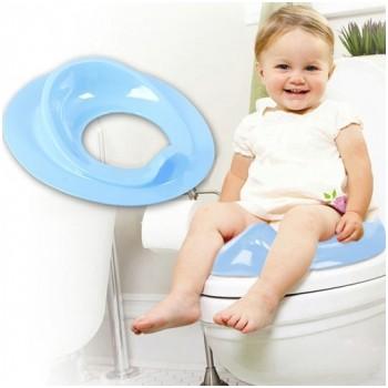 Ghế ngồi toilet tiện dụng cho bé màu xanh dương