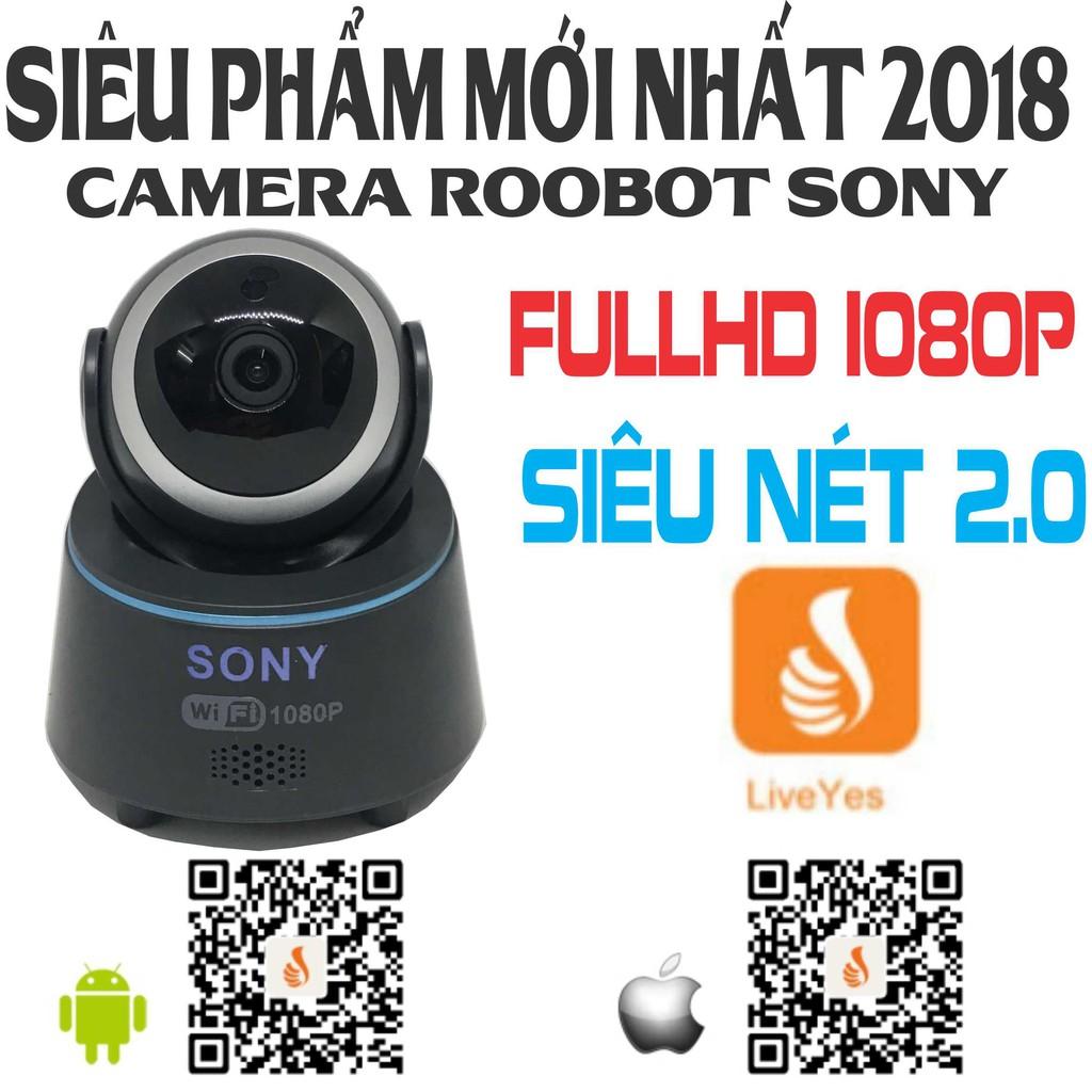 {RẺ NHẤT SHOPEE}Camera SONY WIFI fullhd 2.0
