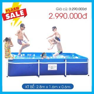 Bể bơi khung kim loại Bestpool KT 1.6m*2.8m*0.6m
