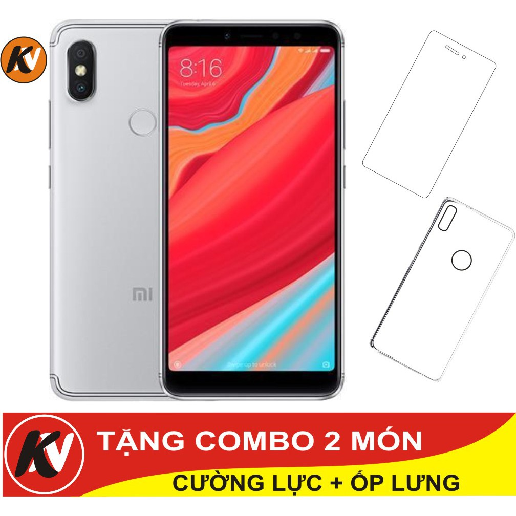 Combo Điện thoại Xiaomi Redmi S2 32GB Ram 3GB - Hàng nhập khẩu + Ốp lưng + Cường lực - 3406587 , 1164884685 , 322_1164884685 , 6000000 , Combo-Dien-thoai-Xiaomi-Redmi-S2-32GB-Ram-3GB-Hang-nhap-khau-Op-lung-Cuong-luc-322_1164884685 , shopee.vn , Combo Điện thoại Xiaomi Redmi S2 32GB Ram 3GB - Hàng nhập khẩu + Ốp lưng + Cường lực