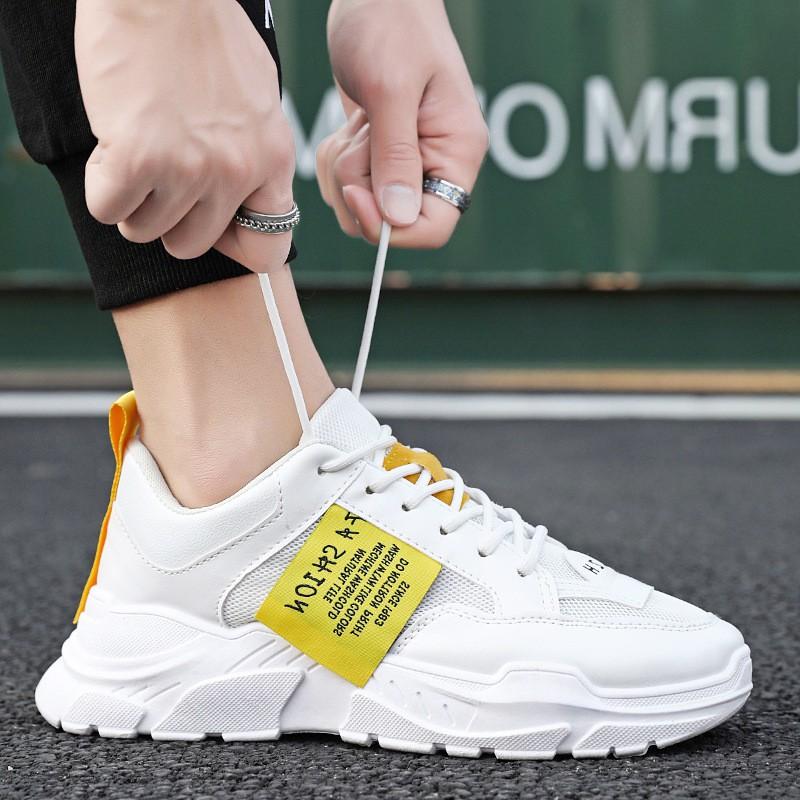 Giày Nam, Giày Sneaker Thể Thao Nam Phong Cách Hàn Quốc G39