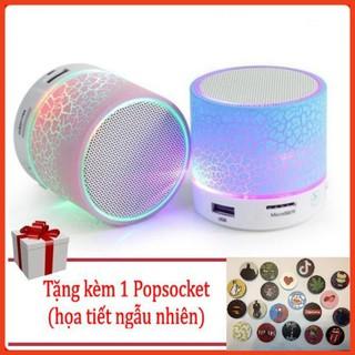 Combo 2 Loa Bluetooth Mini Đèn LED Đổi Màu (Tặng kèm Popsocket)