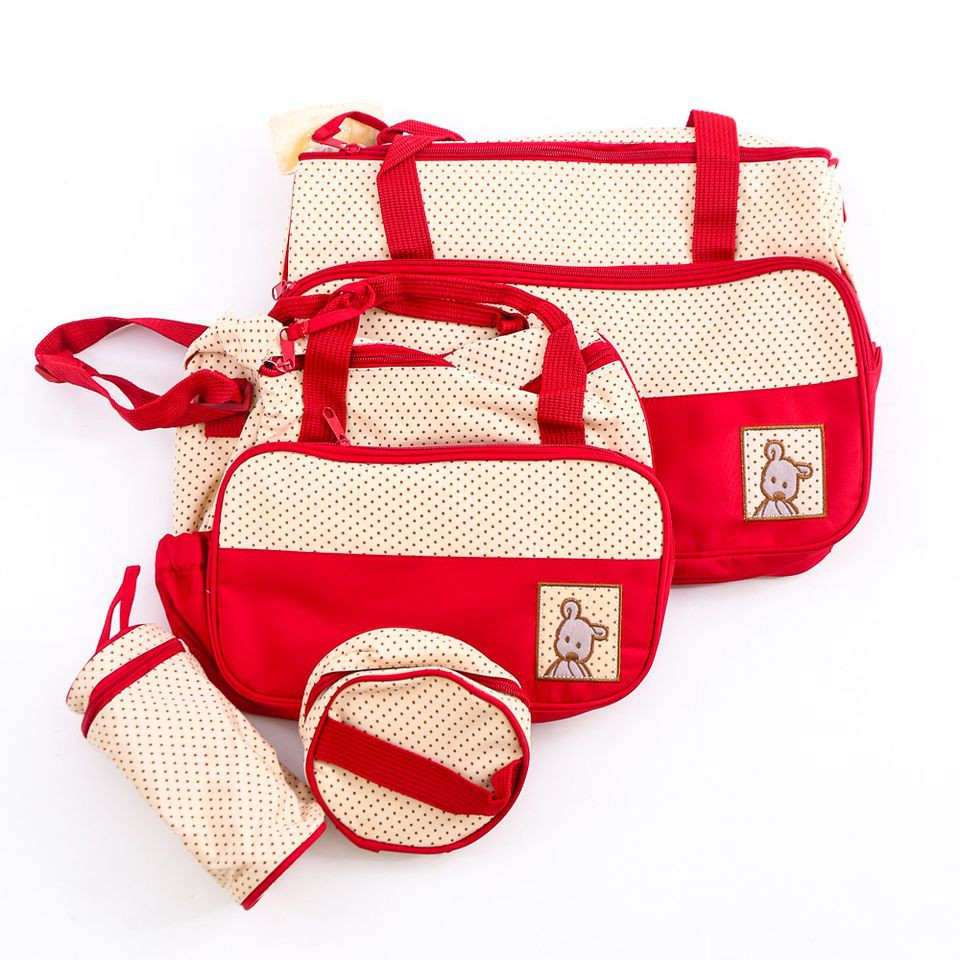 Bộ túi 5 chi tiết chấm bi hữu dụng cho mẹ và bé - 2910716 , 350638196 , 322_350638196 , 180000 , Bo-tui-5-chi-tiet-cham-bi-huu-dung-cho-me-va-be-322_350638196 , shopee.vn , Bộ túi 5 chi tiết chấm bi hữu dụng cho mẹ và bé